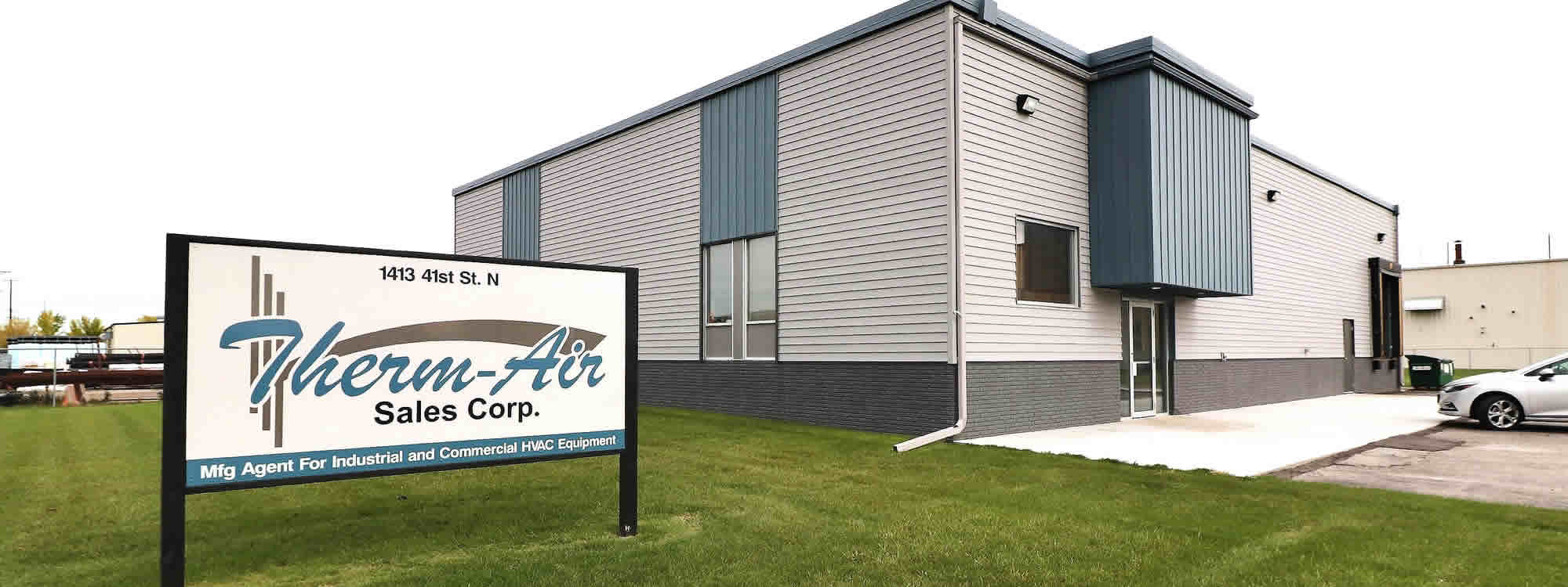 Contact Therm Air Sales of Fargo, North Dakota.